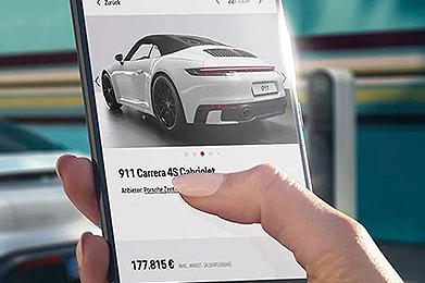 Zum Porsche Online Shop